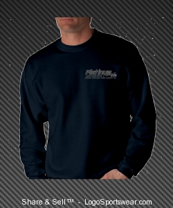 Men's Navy Sweater Design Zoom