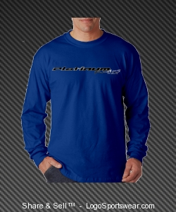 Blue Long Sleeve Design Zoom