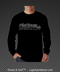 Men's Black Long Sleeve Design Zoom